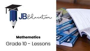 JB Education - Grade 10 - Youtube Thumbnail
